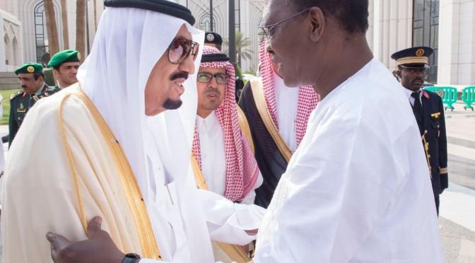 Служитель Двух Святынь принял Его превосходительство президента республики Чад