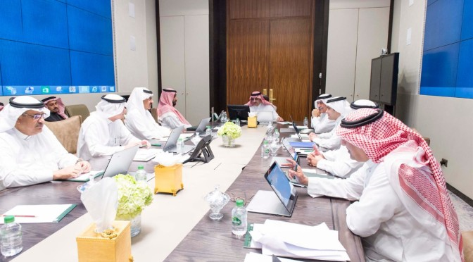 Его Высочество наследный принц возглавил заседание Совета по политике и безопасности
