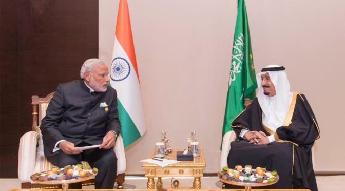 Служитель Двух Святынь встретился с премьер-министром Индии на полях саммита глав государств G20