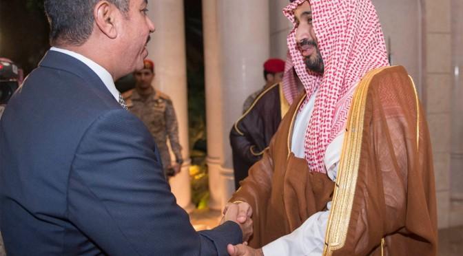 Его Высочество заместитель наследного принца принял вице-президента Йемена