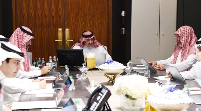 Его Высочество заместитель наследного принца провёл заседание Совета по политике и безопасности