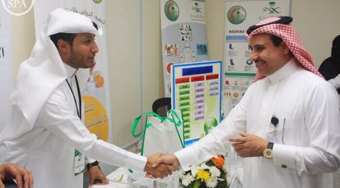 Торжественное начало мероприятий Международного дня фармацевта в больнице Ямама в Эр-Рияде