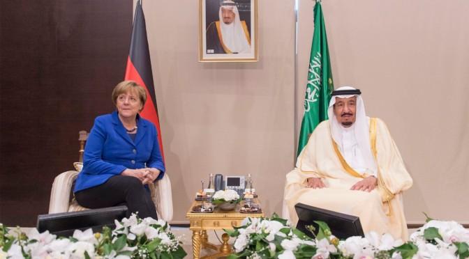 Служитель Двух Святынь принял федерального канцлера Германии в Анталье