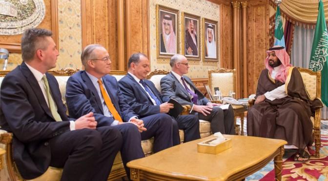 Его Высочество заместитель наследного принца встретился с главой комиссии по иностранным делам парламента Британии