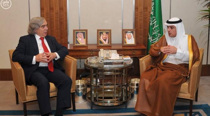 Министр иностранных дел принял министра энергетики США