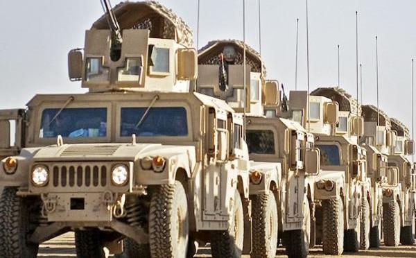 Военная поддержка стран Персидского залива прибывает в Аден