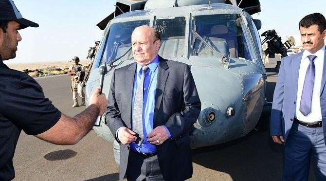 Президент Йемена прибыл на базу ВВС Анад в провинции Лахджа