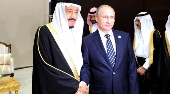 Служитель Двух Святынь и В.Путин обсудили пути урегулирования сирийского кризиса