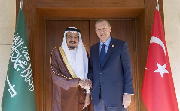 Его Превосходительство президент Турции встретился со Служителем Двух Святынь