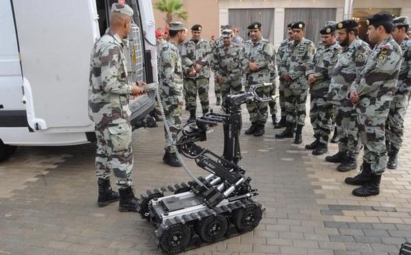 Силы быстрого реагирования ввели в свой состав 13 роботов для разминирования и обезвреживания взрывчатых веществ