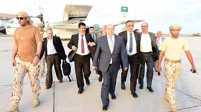 Президент Йемена направил министров для начала работы их министерств в Адене