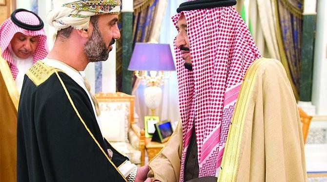 Служитель Двух Святынь принял глав Маджлис-Шура, депутатов и представителей членов Совета сотрудничества арабских стран Персидского залива