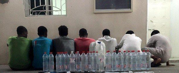 В ходе 29-часовой спецоперации была обезврежена банда самогонщиков в Таифе