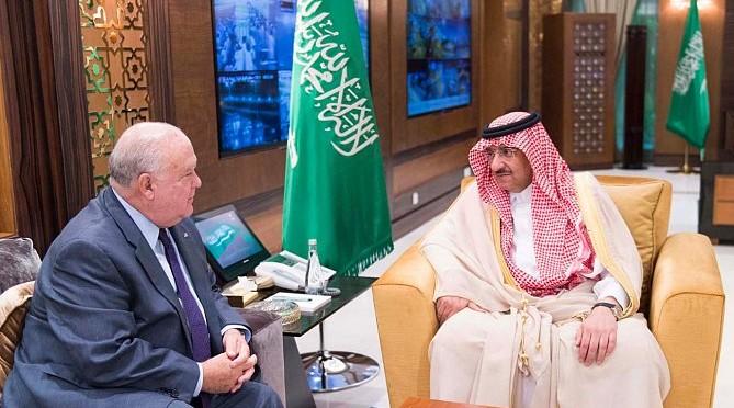 Заместитель наследного принца принял посла США в Королевстве