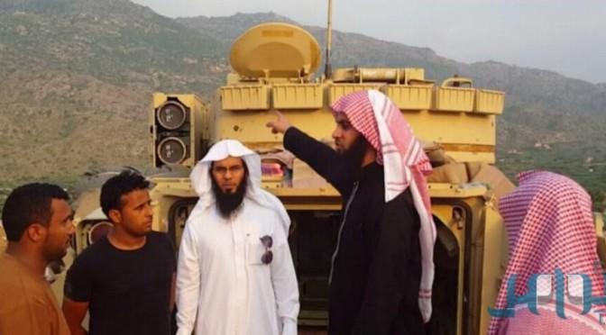Проповедник Наиф Сахафи посетил  военнослужащих на южном рубеже Королевства
