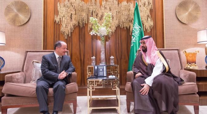 Его Высочество заместитель наследного принца принял президента провинции иракский Курдистан