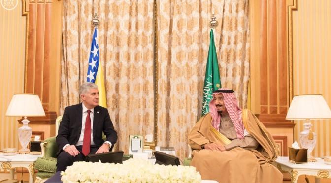 Служитель Двух Святынь провёл официальные переговоры с председателем президиума Боснии и Герцоговины