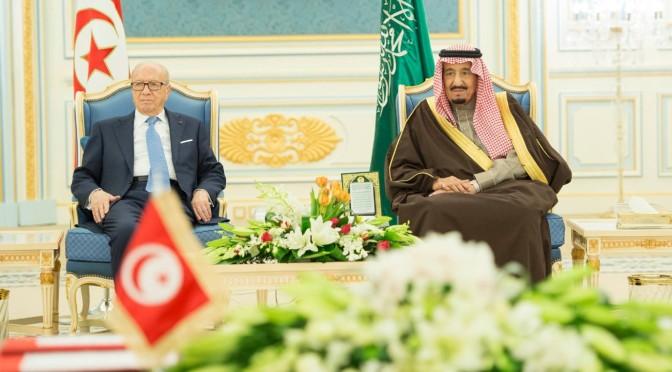 Служитель Двух Святынь провёл официальные переговоры с Его превосходительством президентом Туниса