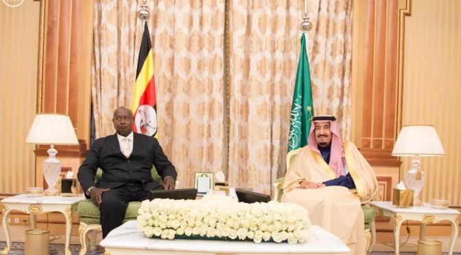 Служитель Двух Святынь провёл переговоры с президентом Уганды