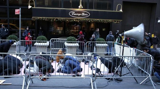Протесты против расизма и фашизма Д.Трампа