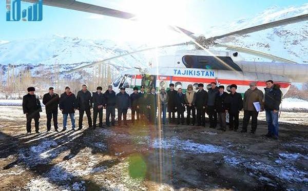 Бригада Центра гуманитарной помощи им.Короля Салмана прибыла в пострадавший от землетрясения регион Таджикистана