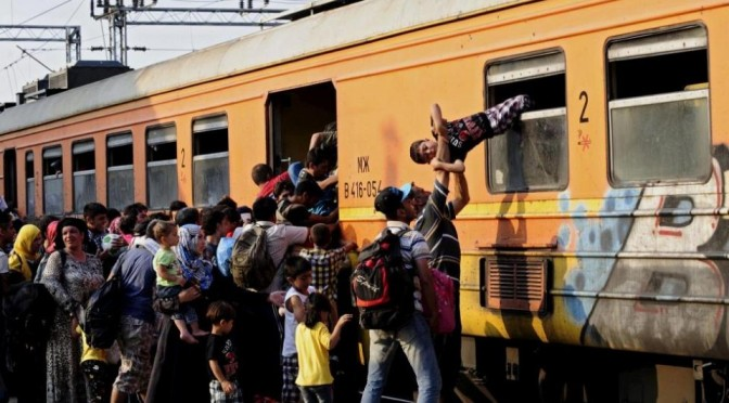 Поездка на поезде за спасением
