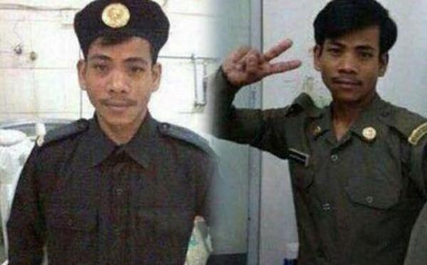 Задержан работник прачечной, распространявший свои фотографии, где он представал облачённым в военную форму