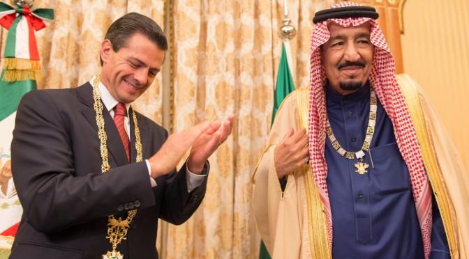 Служитель Двух Святынь принял президента Соединённых штатов Мексики