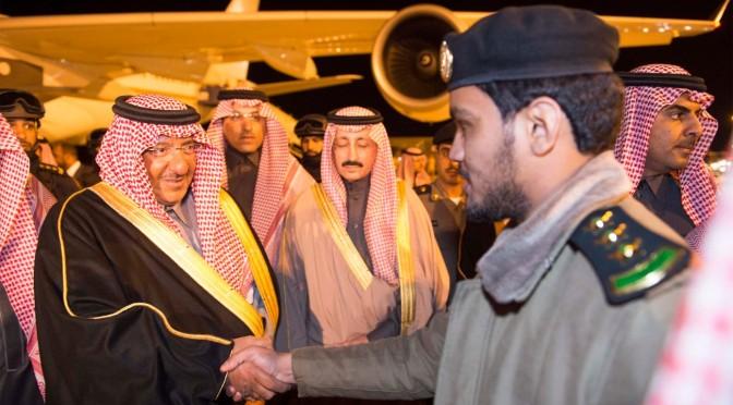Его Высочество наследный принц прибыл в Эр-Рияд