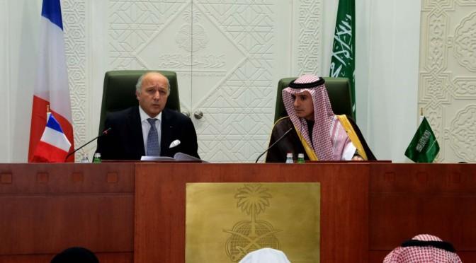 Министр иностранных дел аль-Джубейр рассмотрел с министром иностранных дел Франции текущую обстановку в регионе