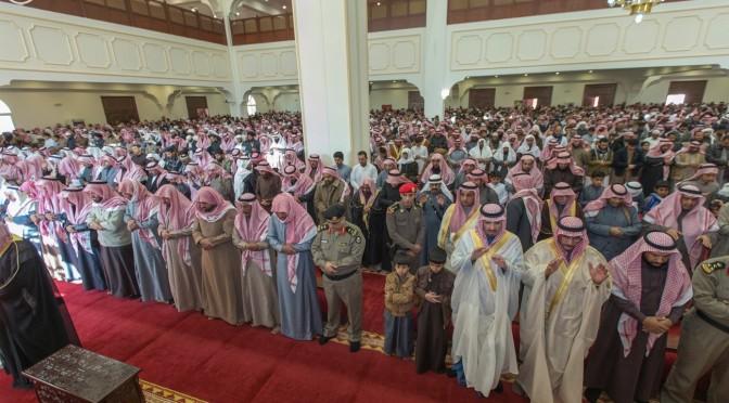 Губернатор провинции Джуф исполнил похоронную молитву по павшему мученником капралу ар-Рувайли