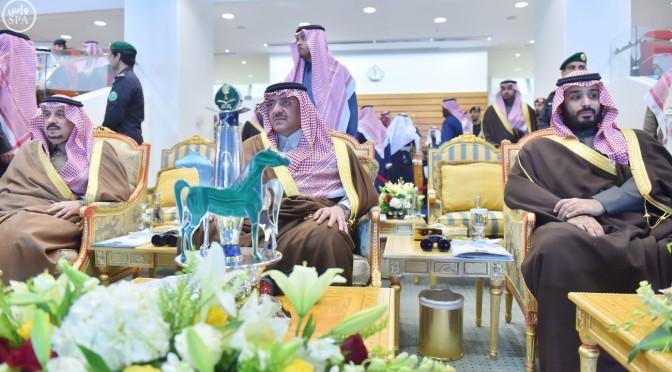 Его Высочество наследный принц почтил своим присутствием ежегодные большие конные скачки на кубок наследного принца