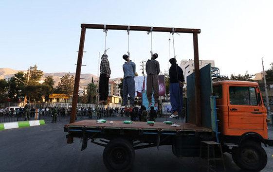 Более тысячи случаев смертной казни в Иране за 2015г. … Иран — страна, чей образ слился с образом виселицы