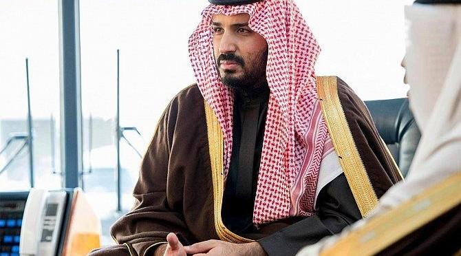 Заместитель наследного принца посетил шейха Солиха Фаузана в его доме