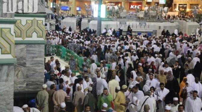 Силы безопасности Запретной Мечети интенсифицировали своё присутствие ввиду начала зимних каникул учащихся