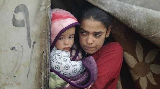 Дети Алеппо … в поисках тепла