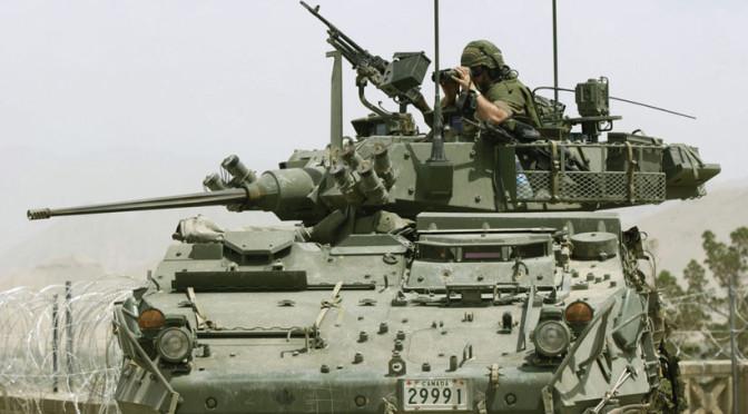 Канада поставит в Королевство наиболее мощные в мире бронемашины