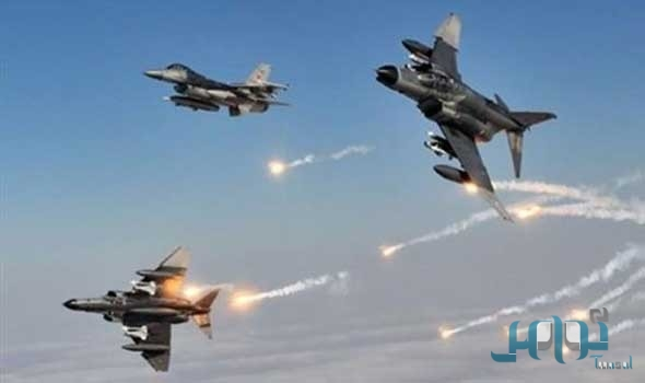 Налёты ВВС коалиции по объектам мятежников в Сане