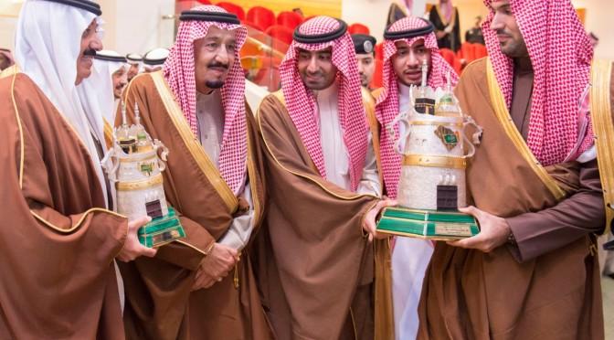 Служитель Двух Святынь почтил своим визитом конные скачки на кубок им.Короля Абдулазиза, да помилует его Аллах