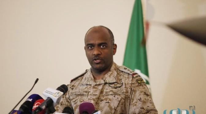 Бригадные генерал аль-Асири отверг утверждения о гибели 100 солдат коалиции в следствии попадания баллистической ракеты в Маарибе