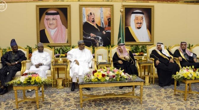 Президент республики Нигерия прибыл в Эр-Рияд
