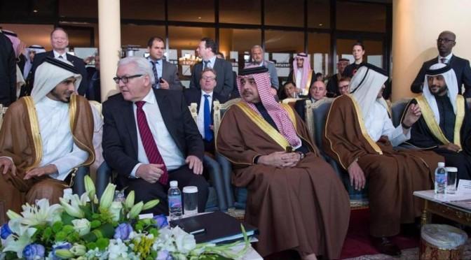 Его Высочество заместитель наследного принца встретился с министром иностранных дел Германии