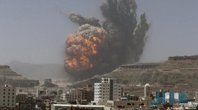С решительным началом .. десятки воздушных налётов на позиции хусиитов в Сане