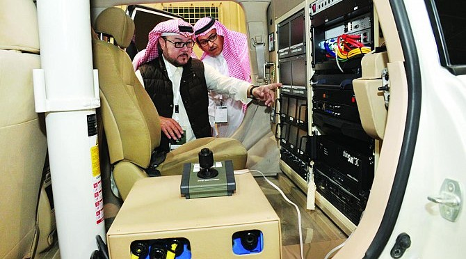 Автомобиль «Салман Решительный» продемонстрировал свои возможности на выставке вооружённых сил