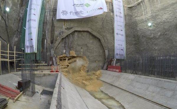 Метрополитен Эр-Рияда: землеройная машина «Сана» прибыла на вторую станцию «зелёной линии» метро