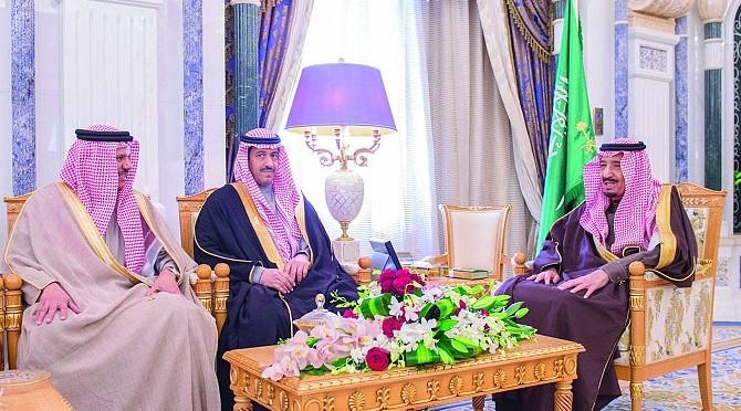 Служитель двух Святынь принял доктора аз-Заяни и глав органов государственной безопасности стран Совета сотрудничества арабских стран Персидского залива
