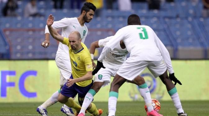 Футбольная команда «Наср» перехватила лидерство у команды «Ахли»