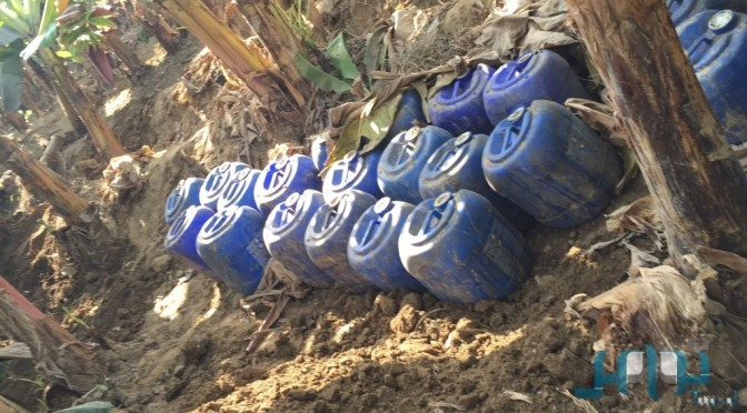 Полиция Джазана захватила подпольный самогоноваренный цех, устроенный двумя приезжими