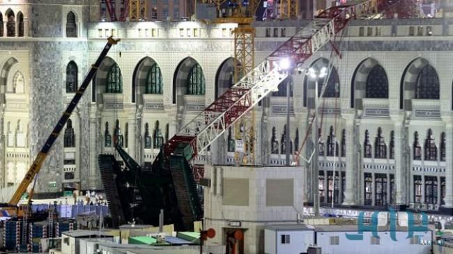 Осведомлённый источник: дело о падении подъёмного крана в Запретной Мечети включает 40 обвиняемых