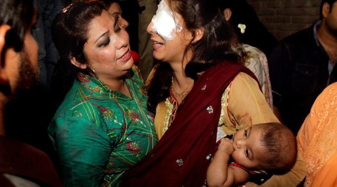 Взрыв в парке развлечений в Пакистане